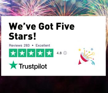 Trustpilot - We've Got Five Stars - Moving Made Easy